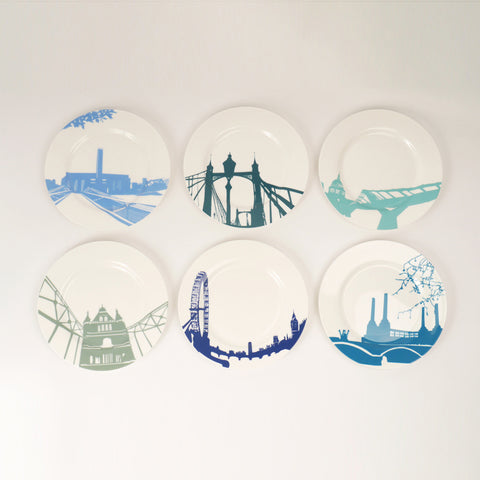 River Series Dinner Plates by Snowden Flood