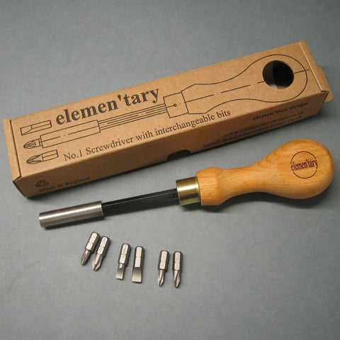 No.1 Screwdriver Set by Elementary Design