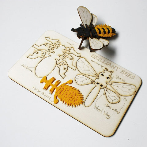 Slot Together Brilliant Bee by Gilbert13. Design for NHS