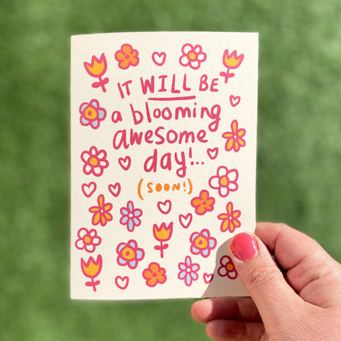 Blooming Postponed Big Day Card by Tee and Toast