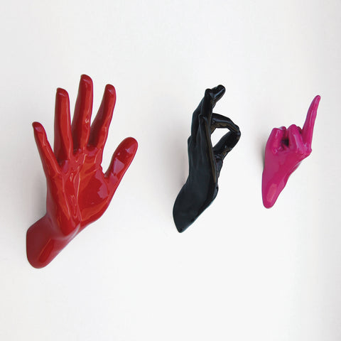 Trio of Hands by Thelermont Hupton - Handjob Hooks