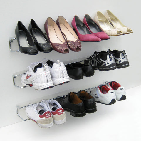 Wired Shoe Rack by Headsprung