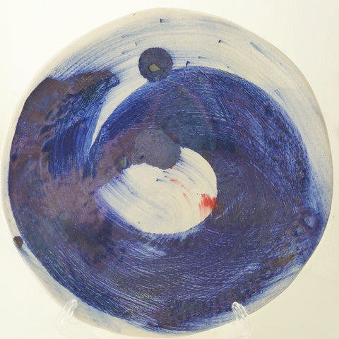 Flow Plate by Julie Hutton Ceramics