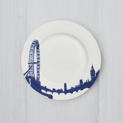 London Eye Plate by Snowden Flood