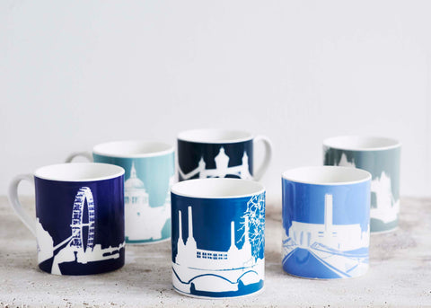 River Series Mugs by Snowden Flood