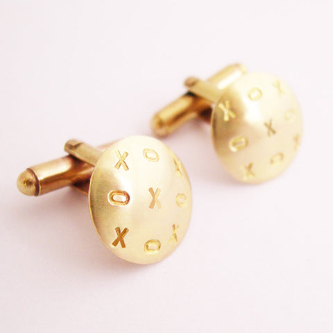 XOX Cufflinks by Sally Lees