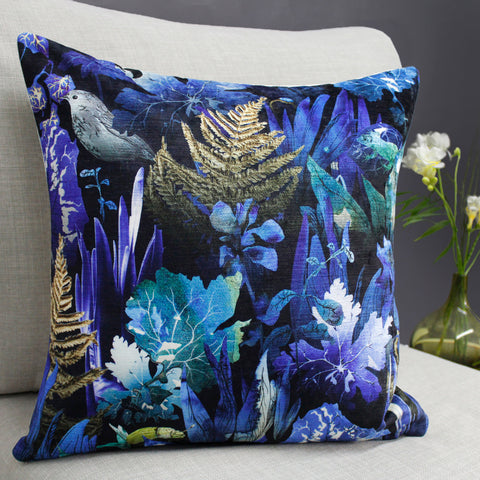 In the Undergrowth Cushion by Terrarium