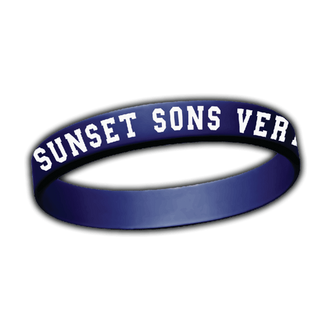Very Rarely Say Die Wristband (Navy)