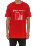 MuslimAmerican Short Sleeve Red Tees