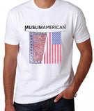 MuslimAmerican Short Sleeve White Tees