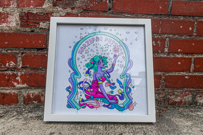 Bushwick Art Club - Marzipan Physics - Signed Print