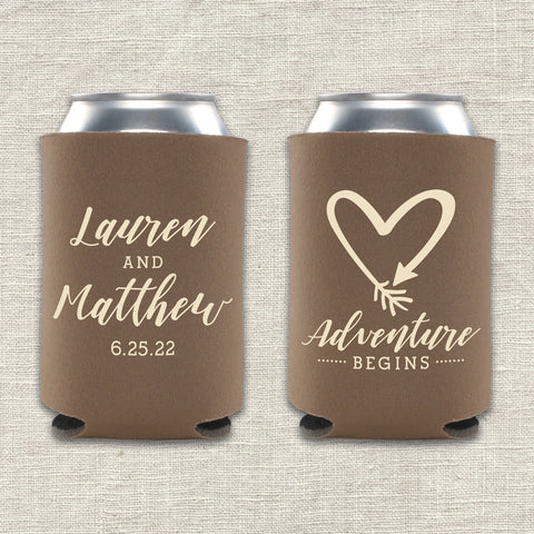 Adventure Begins Can Cooler