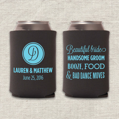 Beautiful Bride Can Cooler
