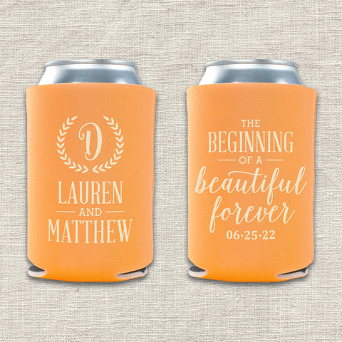 Beautiful Forever Can Cooler
