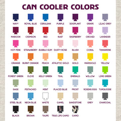 Can Cooler Colors