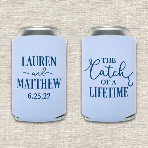 Catch of a Lifetime Can Cooler