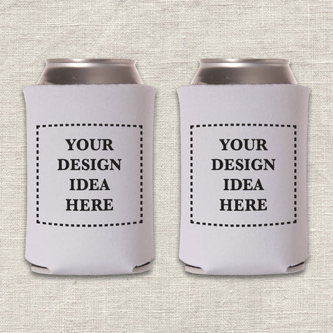 A Custom Can Cooler Design