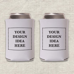 Custom Wedding Koozie Design