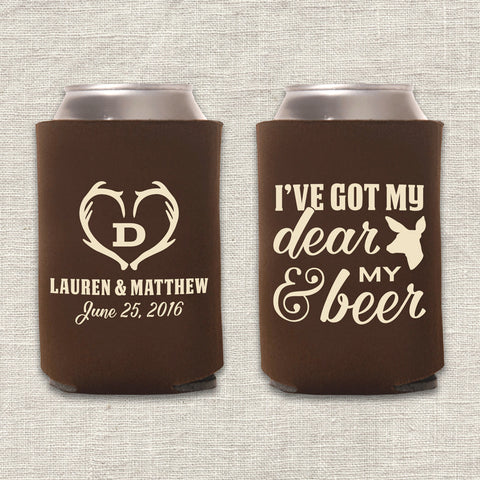 Dear & Beer Can Cooler