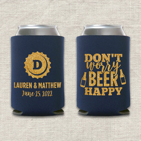 Beer Happy Can Cooler