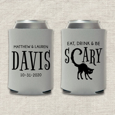 Eat, Drink & Be Scary Can Cooler