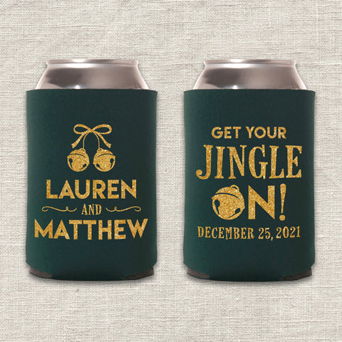 Get Your Jingle On Can Cooler