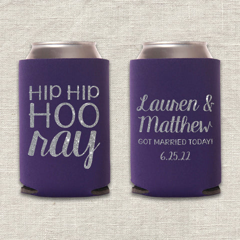 Hip Hip Hooray Can Cooler