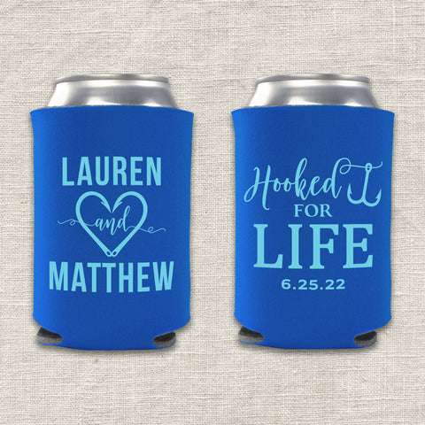 Hooked For Life Can Cooler