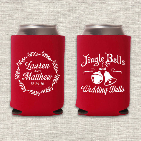 Jingle Bells Can Cooler