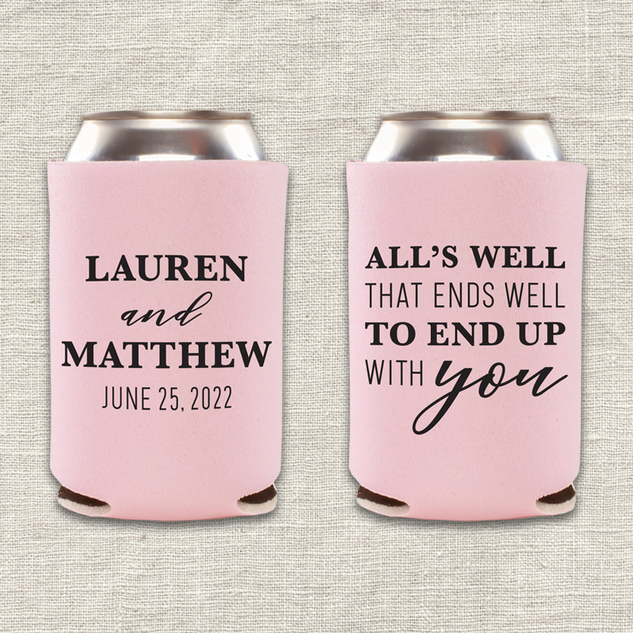Lover Wedding Koozie