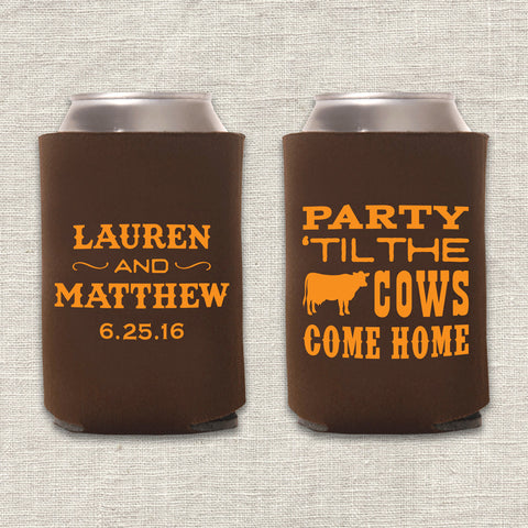 Cows Come Home Can Cooler