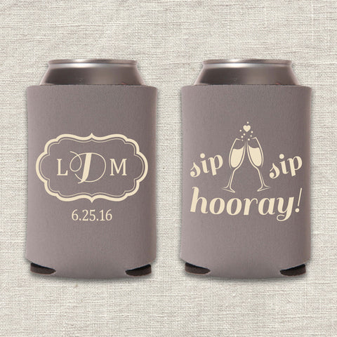Sip Sip Hooray Can Cooler