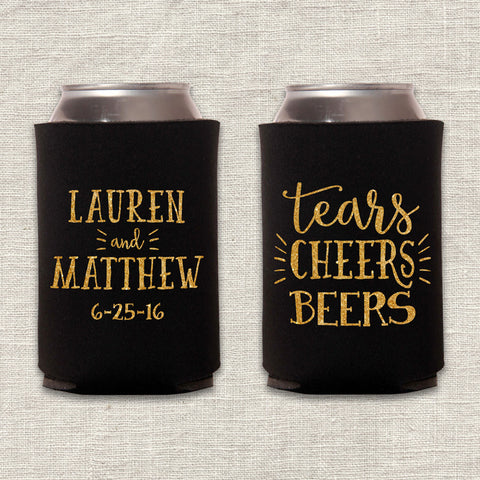 Tears, Cheers, Beers Can Cooler