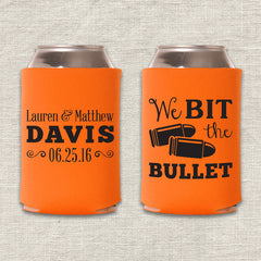 We Bit the Bullet Can Cooler