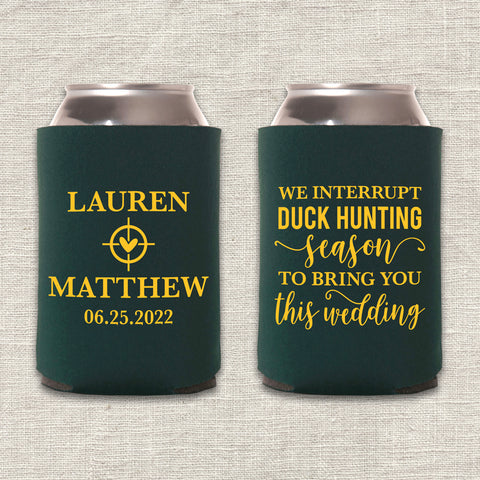 Duck Hunting Season Can Cooler