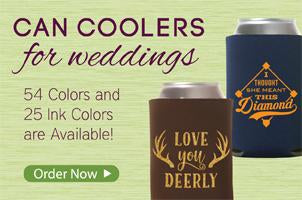 Design Pro's Wedding Koozies