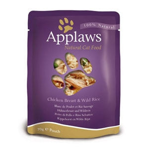 Applaws Pouch Adult Chicken with Wild Rice
