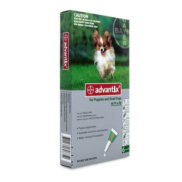 Advantix Dogs - 1.5 Kgs to 4 Kgs
