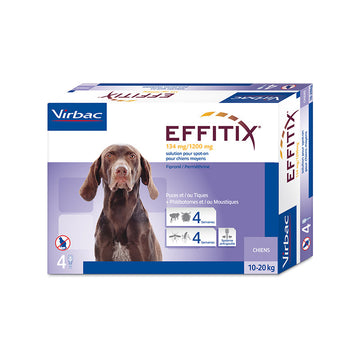 Effitix Spot on, Medium dogs 10 - 20 Kgs