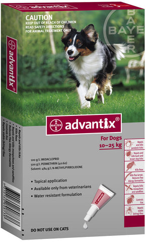 Advantix Dogs - 10 Kgs to 25 Kg
