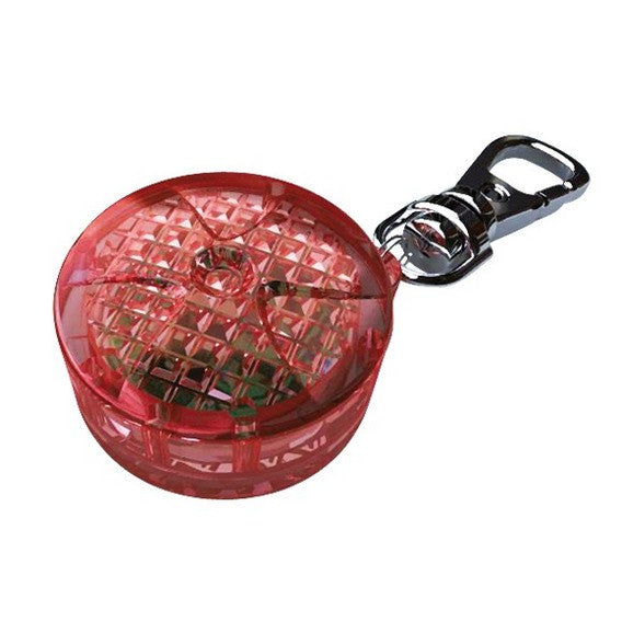 Flasher for cats and small dogs, diam. 2.5 cm, red