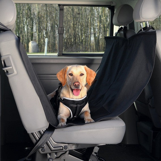 Car seat cover/side panels, nylon, black, 1,5x1,35m