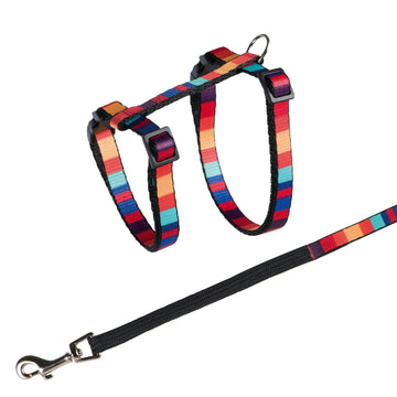 Cat Harness with Leash, Nylon