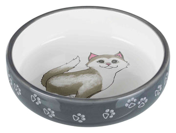 Cat bowl for short-nosed breeds