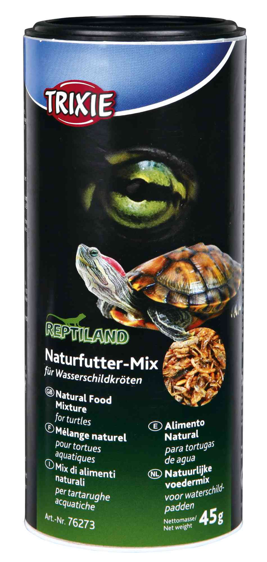 Natural Food Mixture for Water-Turtles