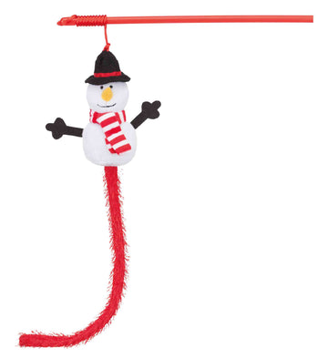 Trixie - Xmas Playing rod Snowman, 31cm