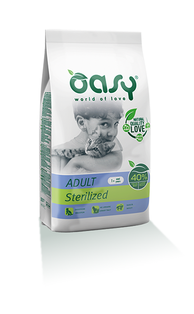 Oasy cat Adult Sterilised Chicken