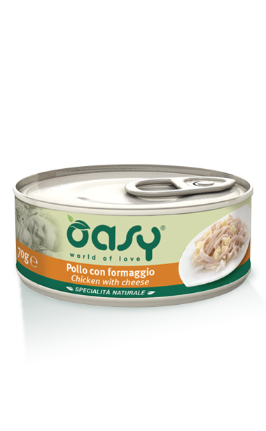 Oasy Cat Tin - Chicken with Cheese