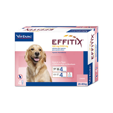 Effitix Spot on, Large dogs 20 - 40 Kgs