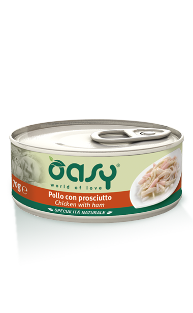 Oasy Cat Tin - Chicken with Ham